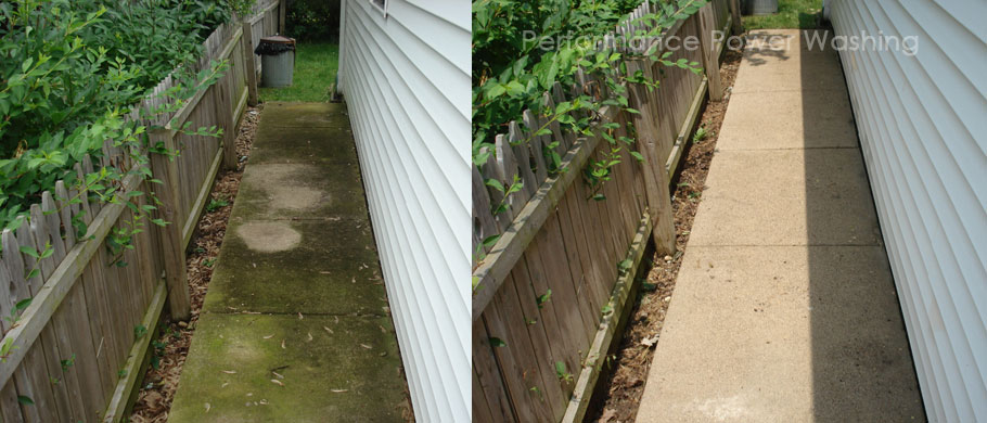 Performance Power Washing - concrete cleaning